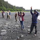 Image of Alaska trip with Doug Chang